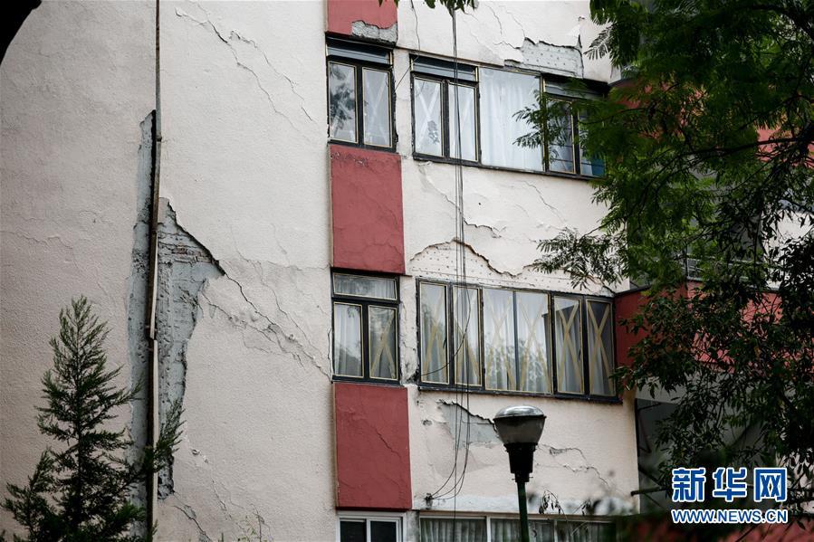 (國際)(9)墨西哥南部發生7.5級地震