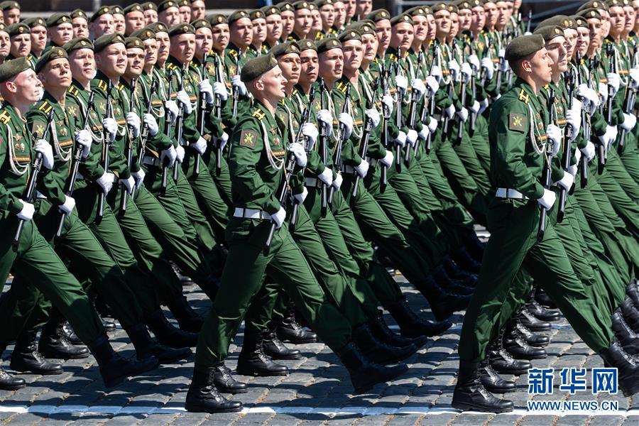 (国际)(3)俄罗斯隆重举行纪念卫国战争胜利75周年阅兵式