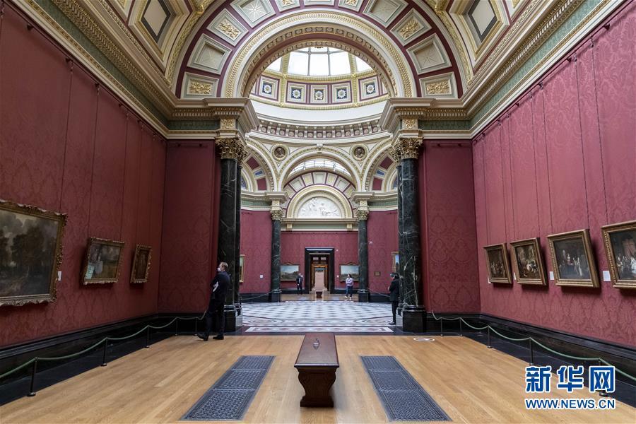 (國際疫情)(1)英國國家美術館即將對公眾開放