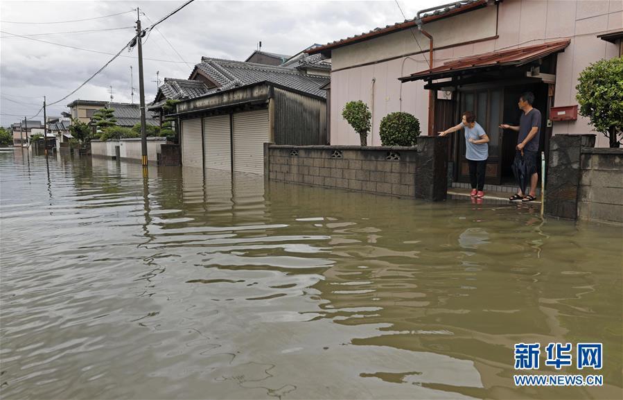 (国际)(1)日本九州地区暴雨已致55人死亡