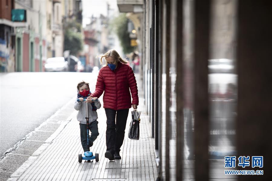 (國際疫情)(1)阿根廷累計新冠確診病例數突破10萬