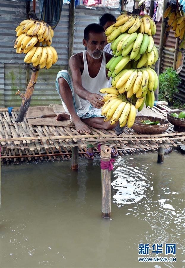 (國際)(1)印度阿薩姆邦:洪澇災害