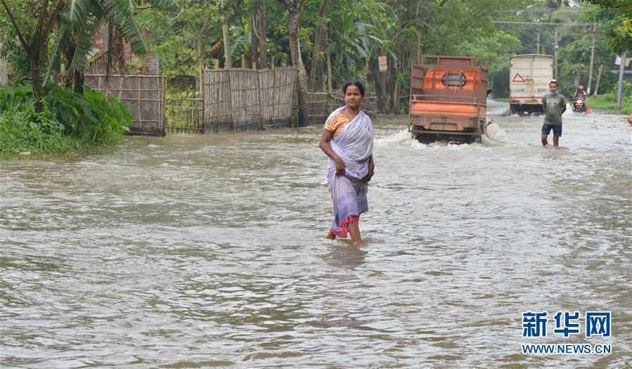 (國際)(2)印度阿薩姆邦:洪澇災害