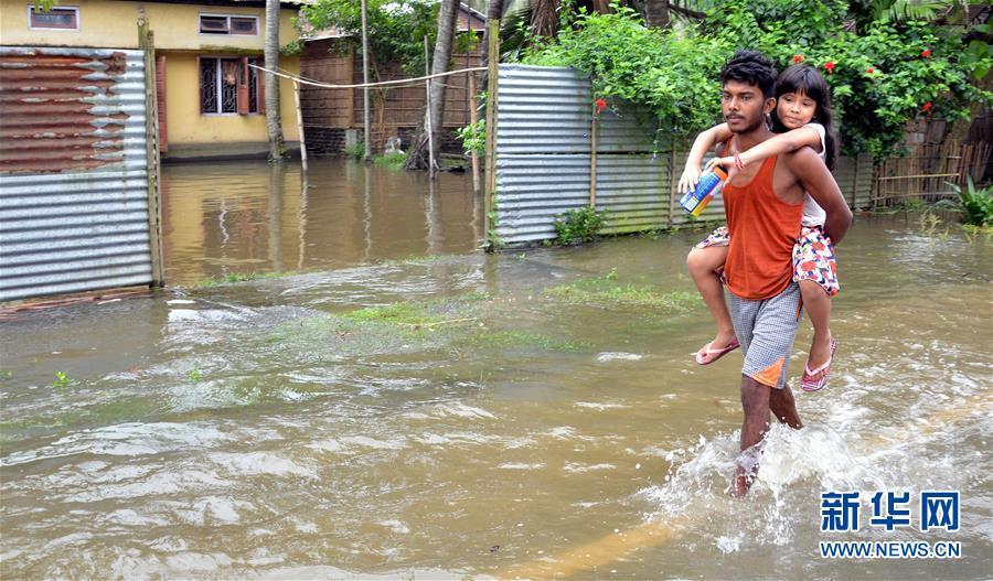 (國際)(3)印度阿薩姆邦:洪澇災害