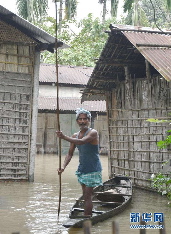 (國際)(4)印度阿薩姆邦:洪澇災害