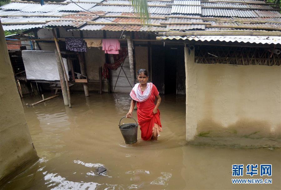 (國際)(5)印度阿薩姆邦:洪澇災害