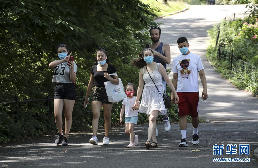 (國際疫情)(1)疫情之下  紐約中央公園客流減少