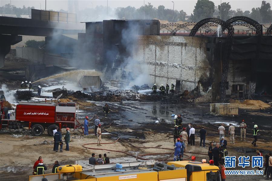 (國際)(1)開羅原油管道破裂起火