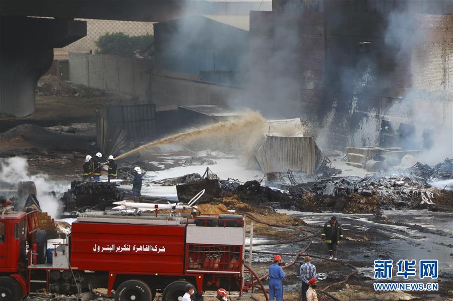 (國際)(3)開羅原油管道破裂起火