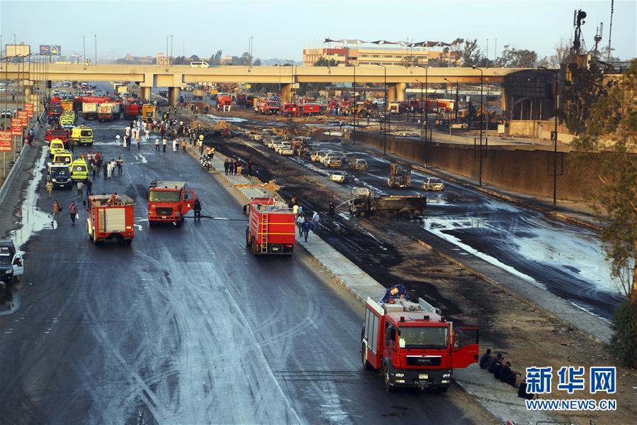 (國際)(5)開羅原油管道破裂起火