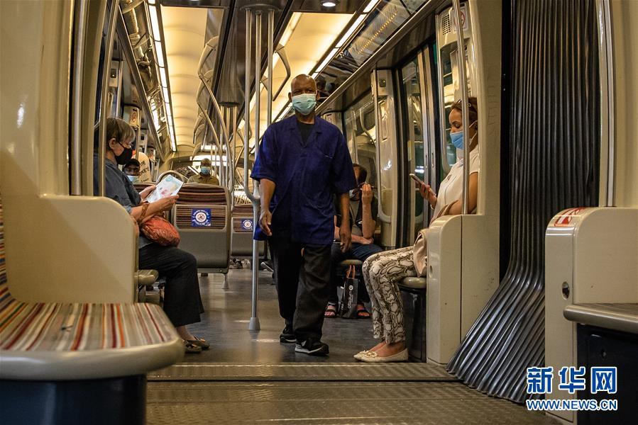 (国际疫情)(1)法国开始执行封闭公共场所强制戴口罩法令