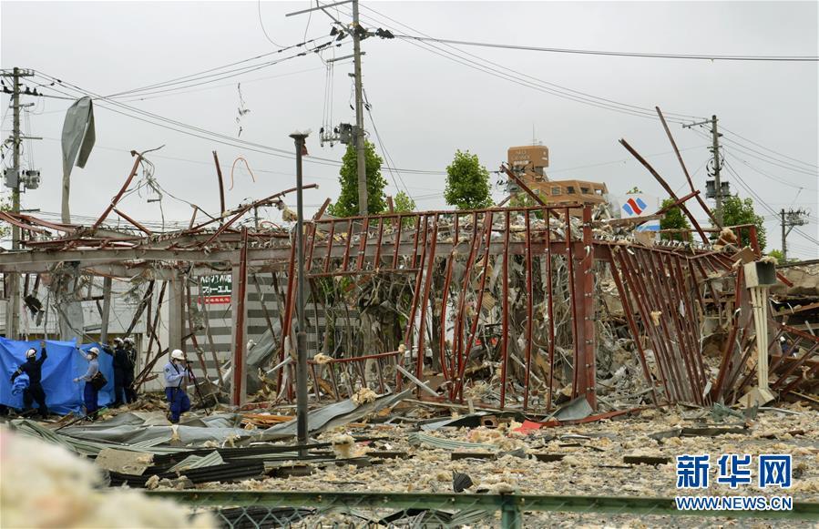 日本福岛县一餐馆发生爆炸致1死18伤