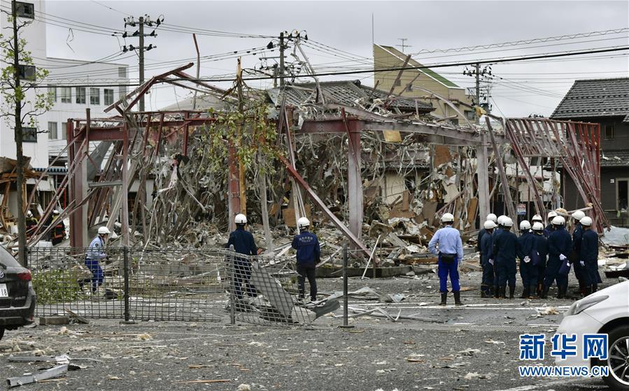 (國際)(3)日本福島縣一餐館發生爆炸致1死18傷