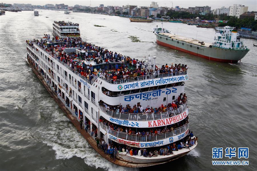 (國際)(1)孟加拉國宰牲節期間迎來返鄉潮