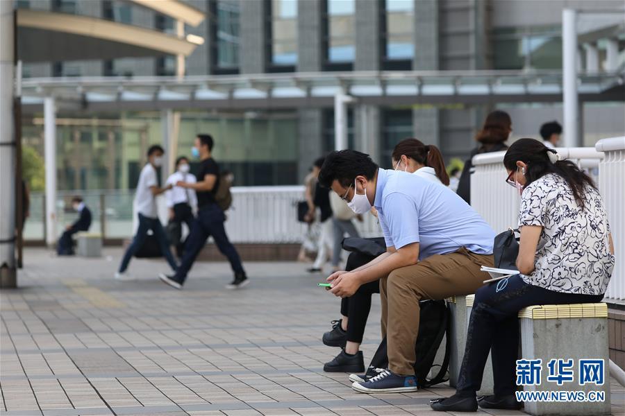 (国际疫情)(1)日本单日新增新冠病例数再创新高 连续三天新增过千例