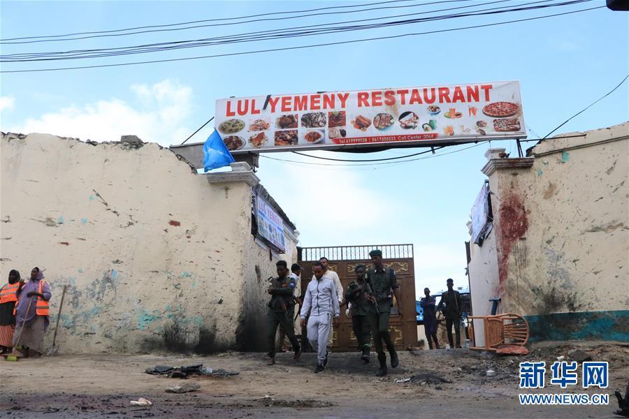 (國際)(1)索馬裏首都發生自殺式襲擊致2死1傷