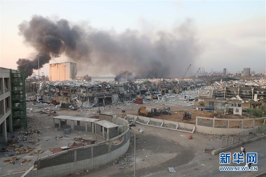 (國際)(2)黎巴嫩首都港口區發生爆炸 至少10人死亡
