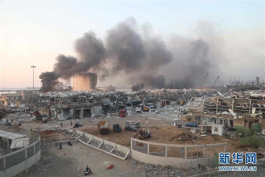 (國際)(3)黎巴嫩首都港口區發生爆炸 至少10人死亡