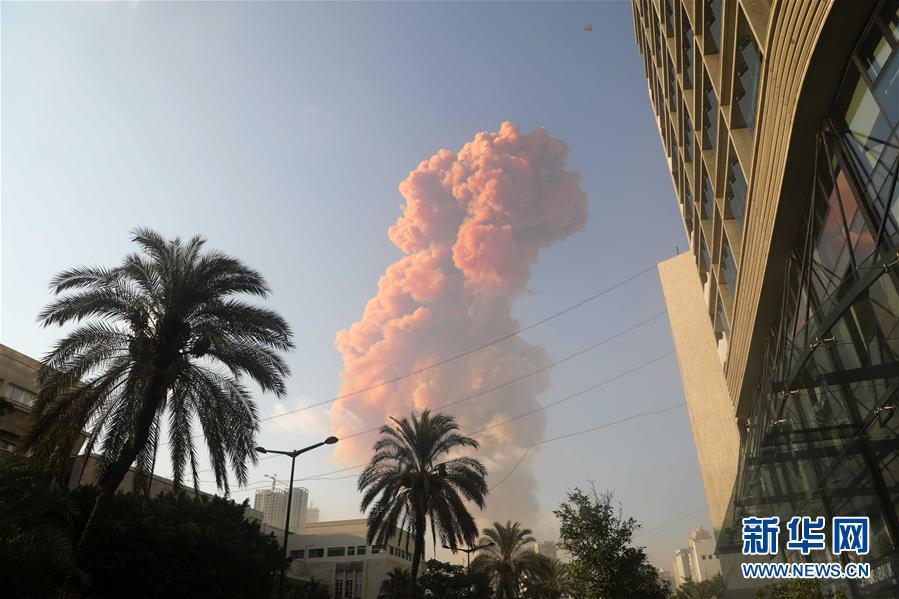 (國際)(6)黎巴嫩首都港口區發生爆炸 至少10人死亡