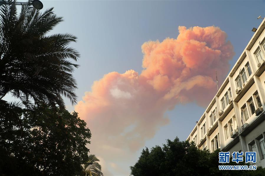 (國際)(7)黎巴嫩首都港口區發生爆炸 至少10人死亡