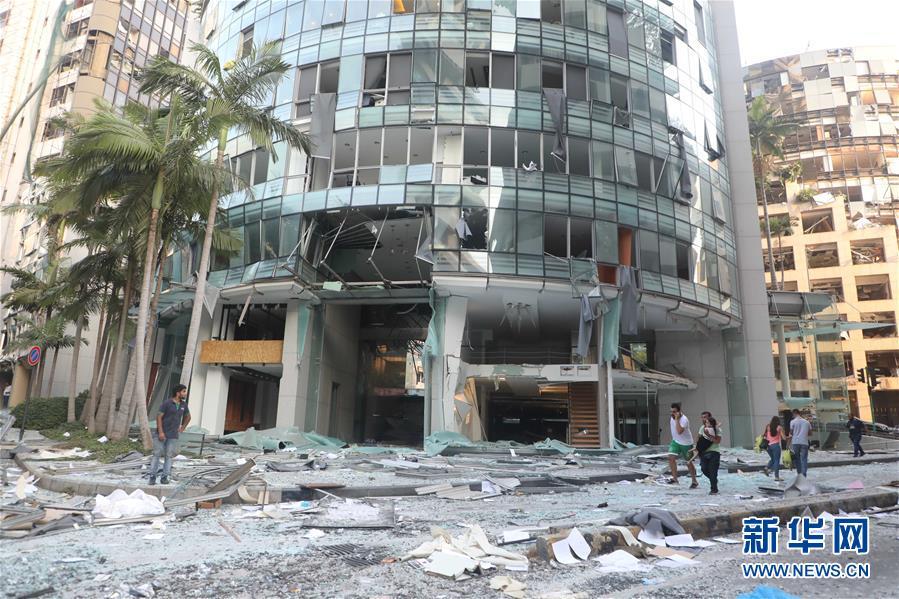 (國際)(11)黎巴嫩首都港口區發生爆炸 至少10人死亡
