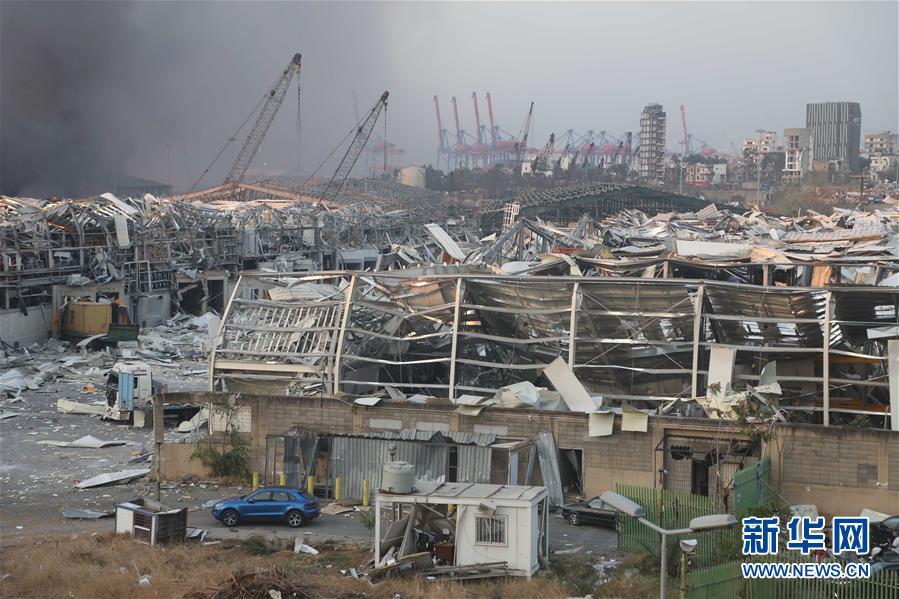 (國際)(14)黎巴嫩首都港口區發生爆炸 至少10人死亡