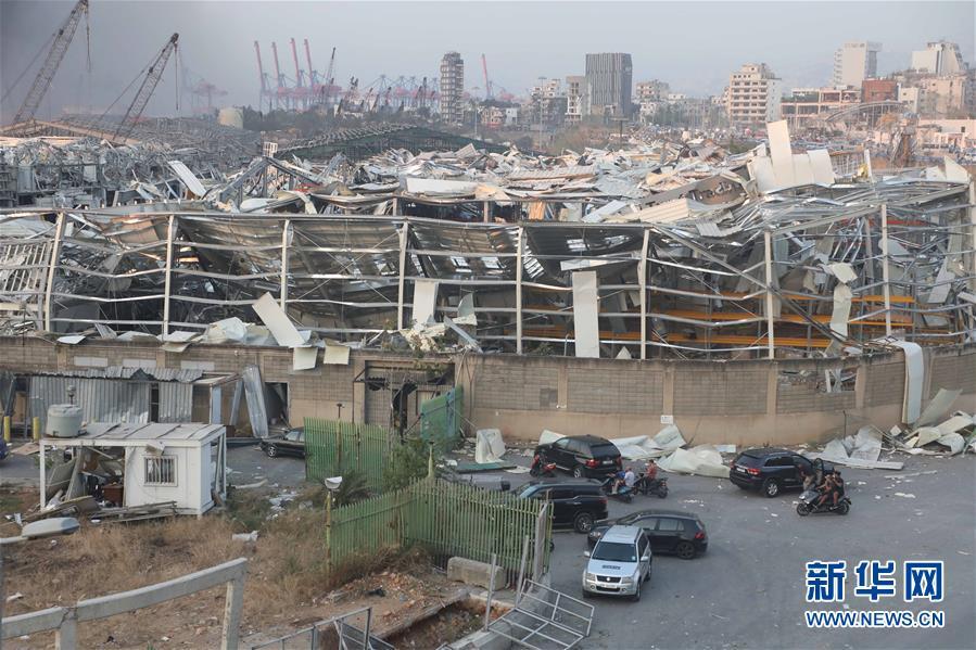 (國際)(15)黎巴嫩首都港口區發生爆炸 至少10人死亡