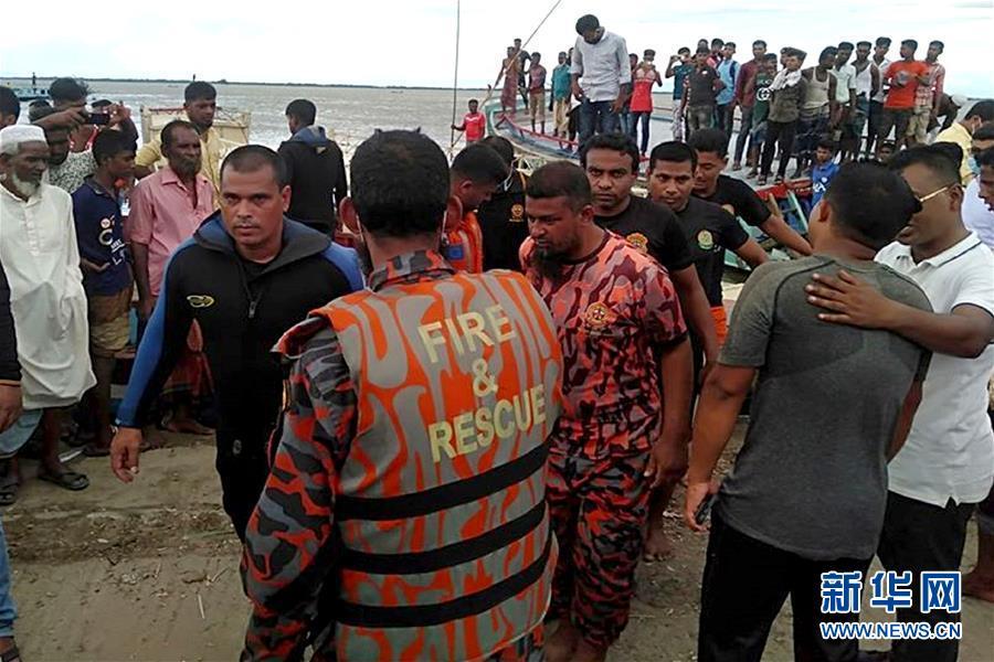 (國際)(1)孟加拉國沉船事故致17人死亡