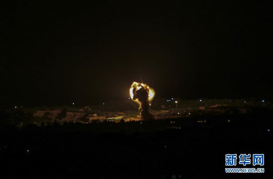 (國際)以軍戰機轟炸加沙地帶哈馬斯軍事目標