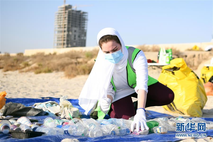 (國際)(1)科威特:清潔海灘