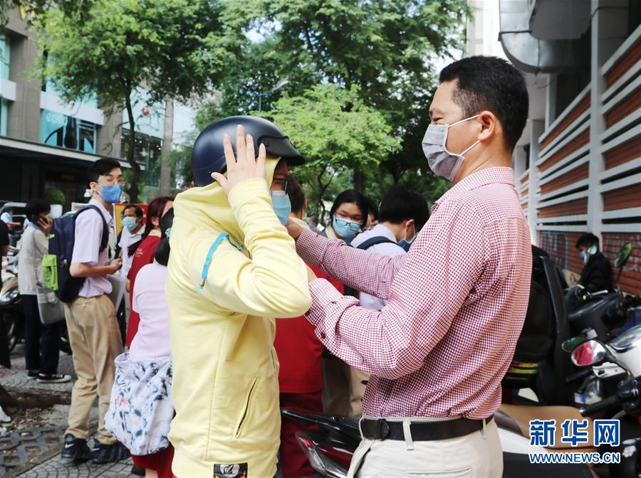 (國際)(2)越南高考在疫情下拉開帷幕