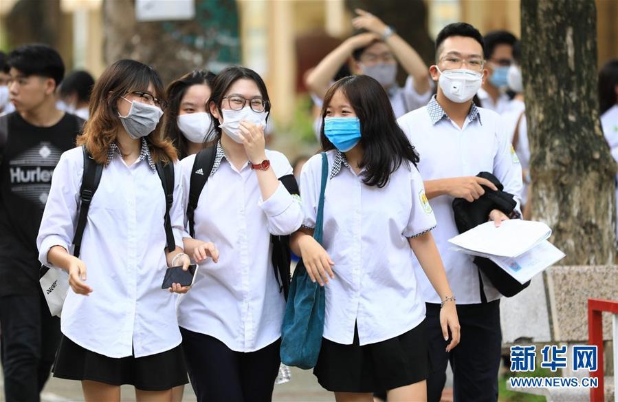 (國際)(5)越南高考在疫情下拉開帷幕