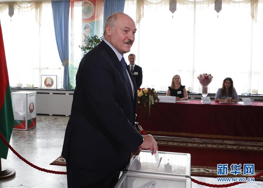 (國際)(1)白俄羅斯總統選舉投票正式開始