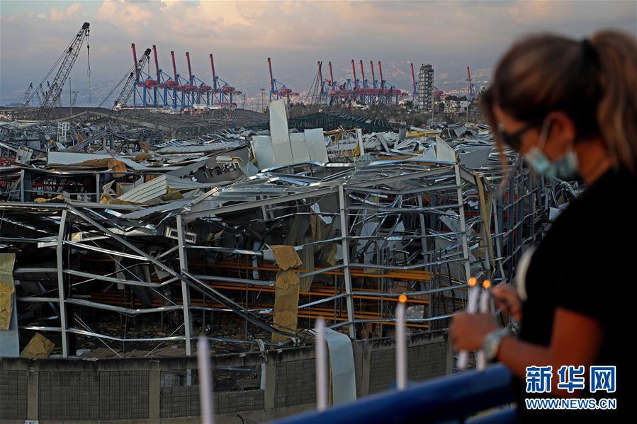 (國際)(1)燭光祈福貝魯特港口區爆炸傷亡和失蹤人員