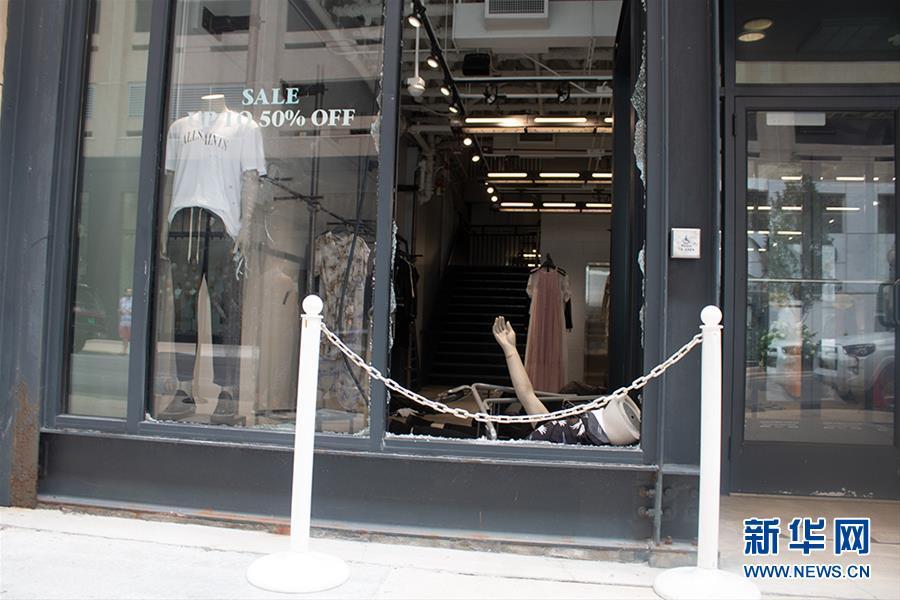 (國際)(3)美國芝加哥發生大規模暴力搶劫事件