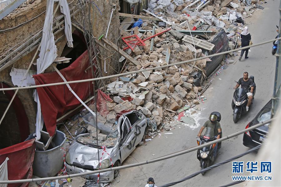 (國際)(1)大爆炸令黎巴嫩經濟雪上加霜