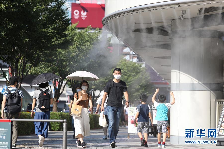 (國際)(5)日本高溫天氣持續
