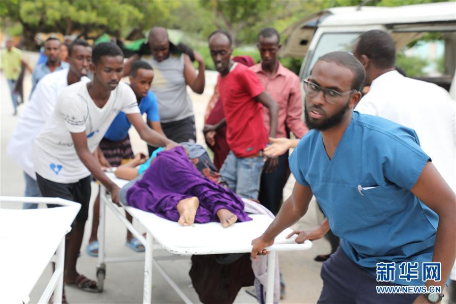 (国际)(1)索马里首都一酒店遭恐怖袭击至少8人死亡