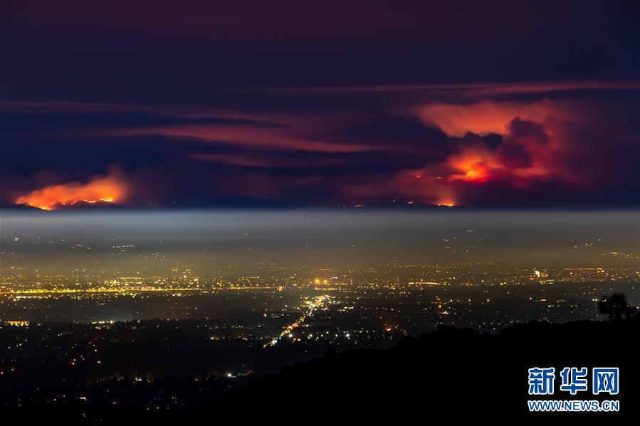 (國際)(7)美國舊金山灣區山火肆虐