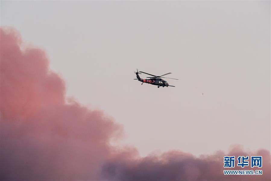 (國際)(1)美國舊金山灣區山火肆虐