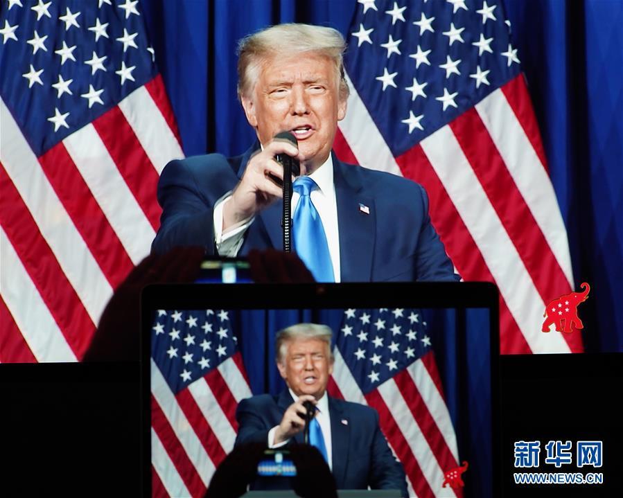 (国际)(3)特朗普正式成为2020年美国共和党总统候选人
