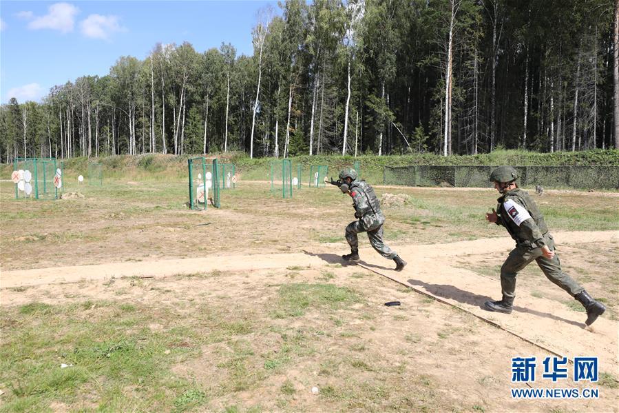 """(国际·图文互动)(4)中国队在""""国际军事比赛-2020""""连创佳绩"""