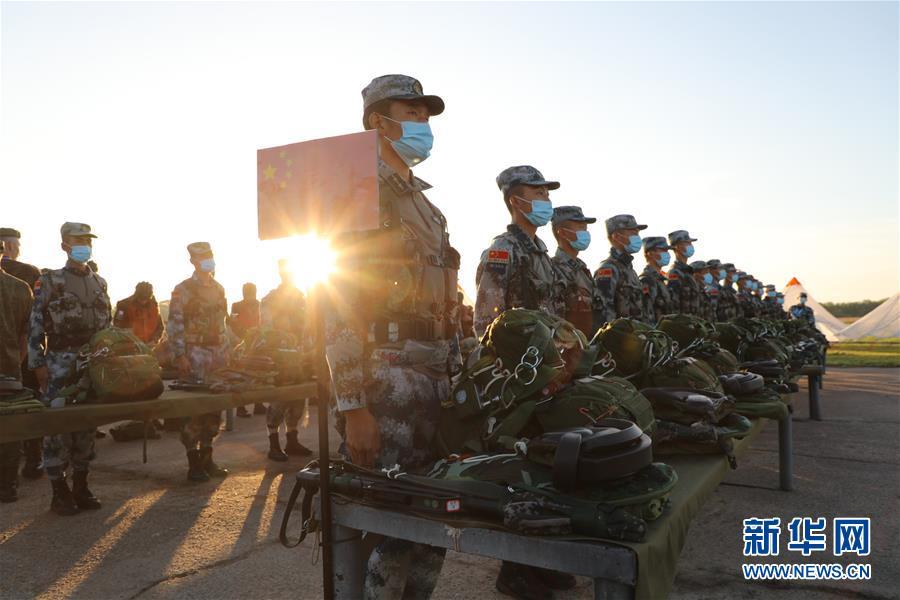 """(国际·图文互动)(7)中国队在""""国际军事比赛-2020""""连创佳绩"""