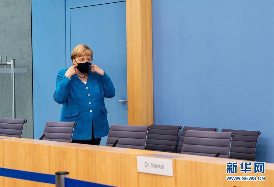 (国际)(1)默克尔:欧盟期待与中国加强多领域合作