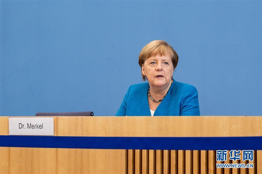 (国际)(3)默克尔:欧盟期待与中国加强多领域合作