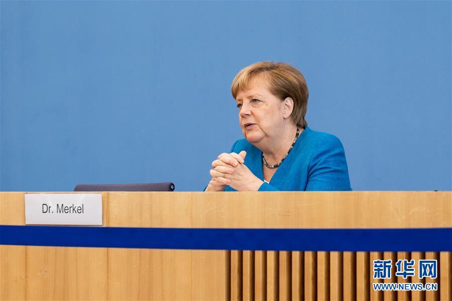 (国际)(4)默克尔:欧盟期待与中国加强多领域合作