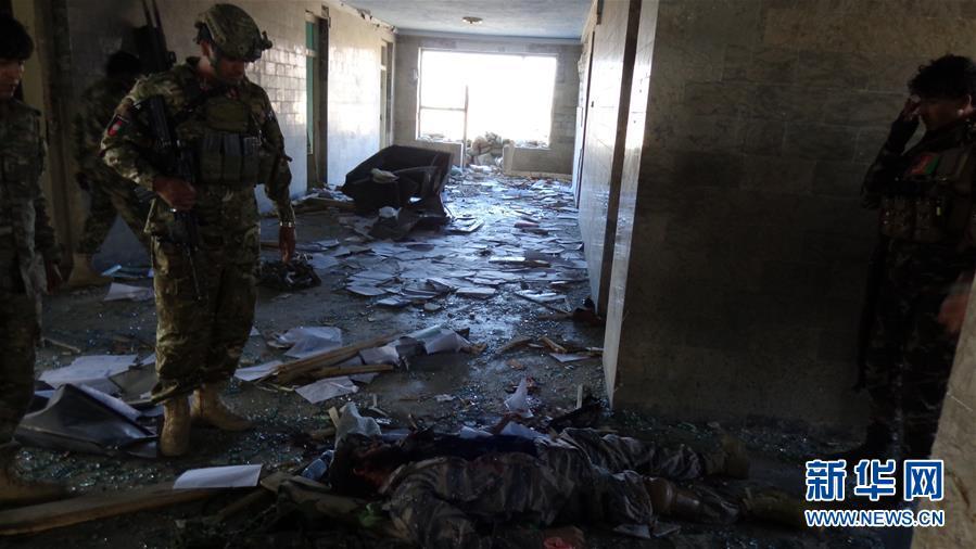 (國際)(4)阿富汗警察營地遇襲