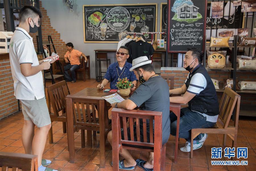 """(國際·圖文互動)(8)走進泰國社區的""""監獄咖啡館"""""""
