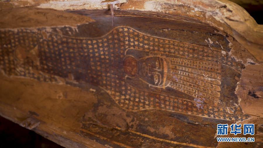 (國際)(4)埃及出土多具2500年前的木棺