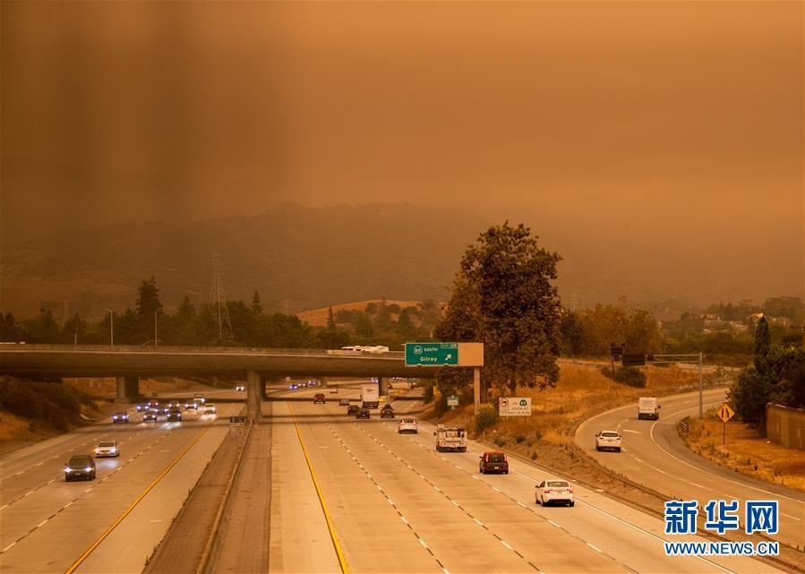 (國際)(1)煙塵籠罩美國硅谷